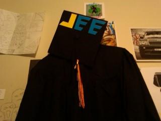 Charlie's Grad Cap